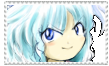 Cirno Stamp by CarrotsAndCucumbers