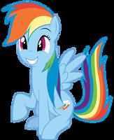 Rainbow Squee by SparkPonies