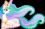 Princess Celestia by SparkPonies