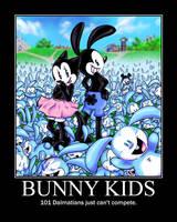 Bunny Kids Motivational by GJTProductions