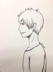 Profile Drawing Attempt by Yeji412