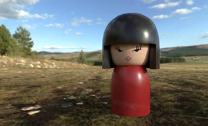 Doll Render by Warmaster-Shephard