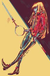 Hollow!Shinji by Drimr