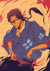 [Samurai Champloo] Jin by Drimr