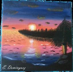 Sunset Cove by AspiredWriter