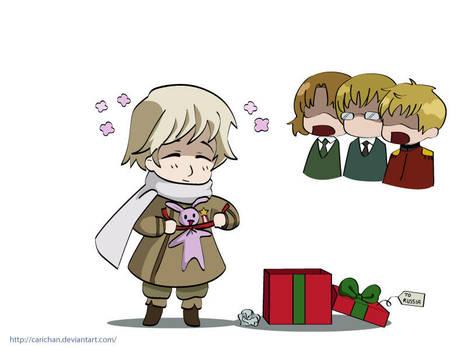 Hetalia: Russia Christmas by carichan