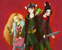 HTTYD Book Cast by magicalavatarian