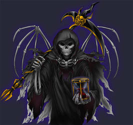 Grim Reaper by kichigai