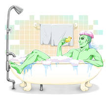 BathTime Technus by kichigai