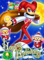 Christmas NIGHTS Card by kichigai