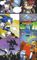 Archie Sonic comic's style by kichigai