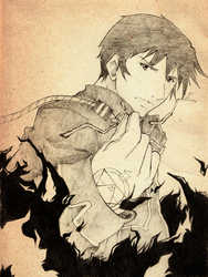 Roy Mustang by RidleyWright