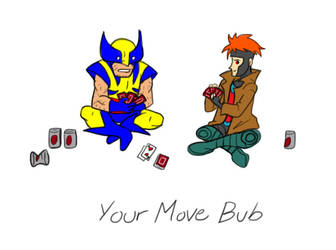 Your Move Bub by Kaylith