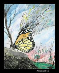 Ind Stu2 - Butterfly by AlexanderLeon