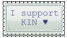 Kin support stamp by SilentObserverIsHere