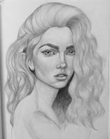 Portrait practice #10 by Mariluri