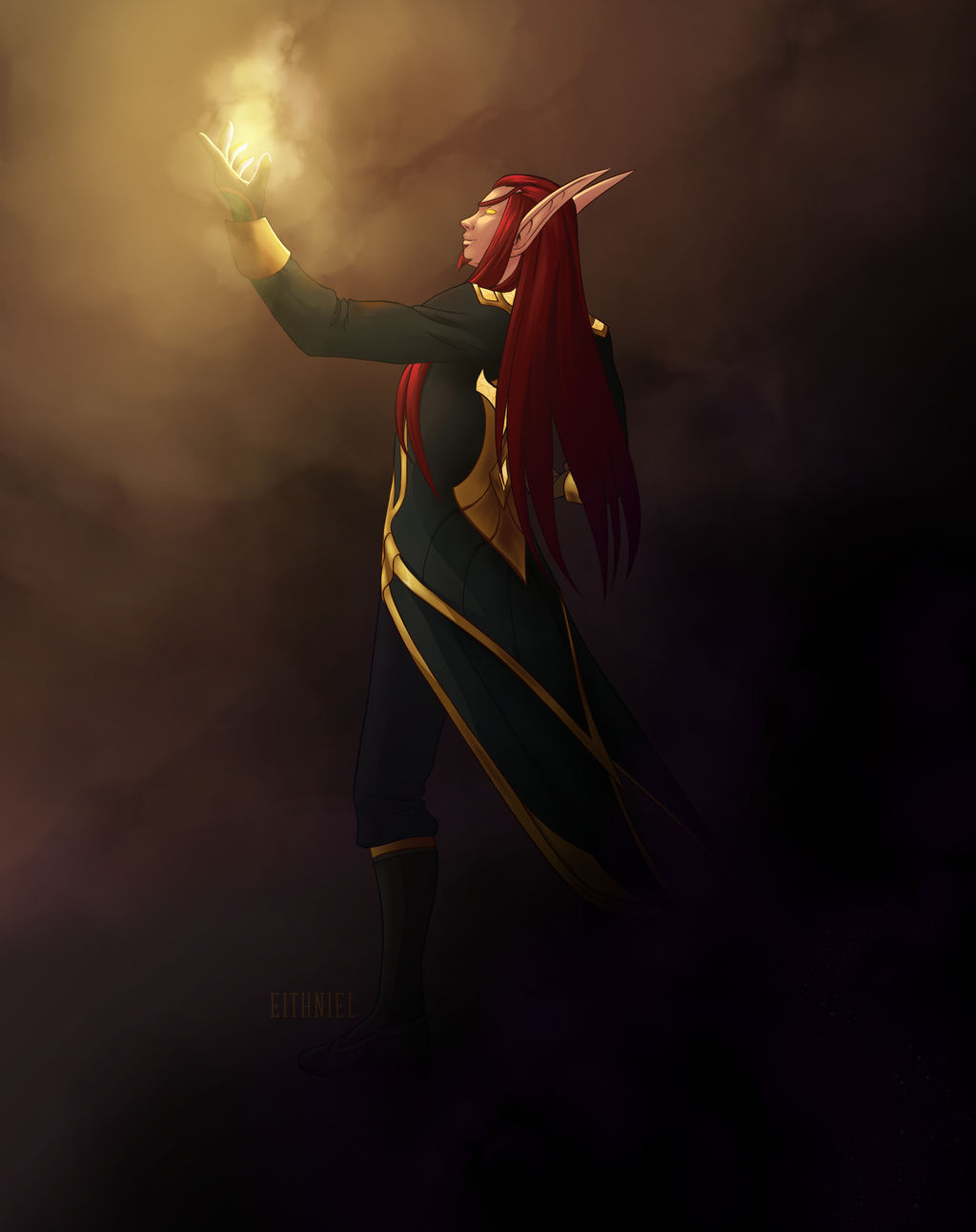 A light in the darkness by Eithniel