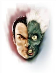Two Face by Nerdvana21
