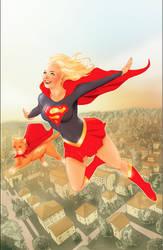 Supergirl by Nerdvana21