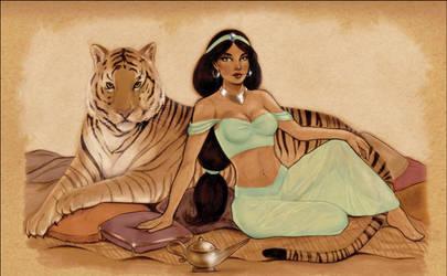 Princess Jasmine by Nerdvana21