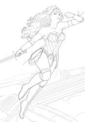 Wonder Woman by Nerdvana21
