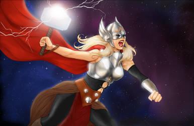 Thor by Nerdvana21
