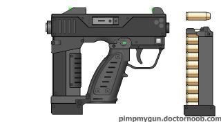 M54 Heavy Pistol by dronner66