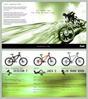 Trek Bikes : BROCHURE by lucidhysteria