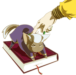Dio with pet by Amagi