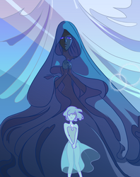 Blue Goddess by Amagi