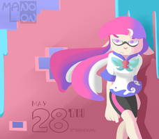 Splatoon: The Date a Legend was Released 2018 by Mano-Lon