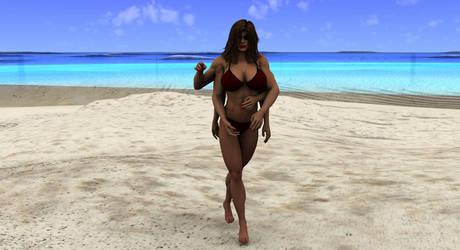 Arachnia bikini by freedom981 by LoneStranger