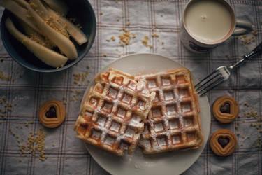Breakfast by Lain-AwakeAtNight