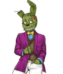 Springsuit by Springtrap-trash