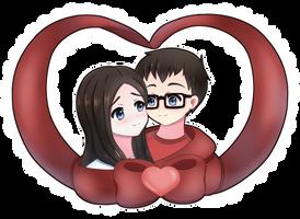 Happy Anniversary! by Yukipengin