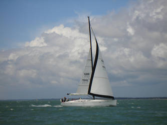Solent sailing by DrTortoise