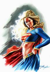 Supergirl by felipemassafera