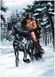 Conan in Vanaheim by felipemassafera
