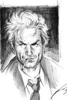 Constantine sketch by felipemassafera