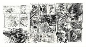 Wolverine test pages by felipemassafera