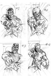 Abin Sur cover 1 sketches by felipemassafera