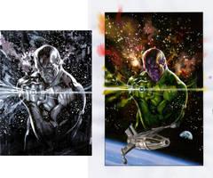 Abin Sur cover 1 sketches 2 by felipemassafera