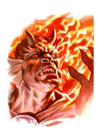 Etrigan The Demon Comission by felipemassafera