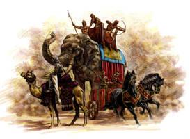 War animals by felipemassafera