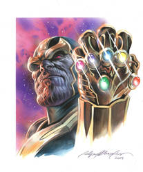THANOS commission by felipemassafera