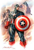 Captain America commission by felipemassafera