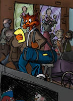 Jake Clawson City scene by Scorpio-G