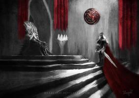 Rhaegar : The Last Dragon by Bhargav08