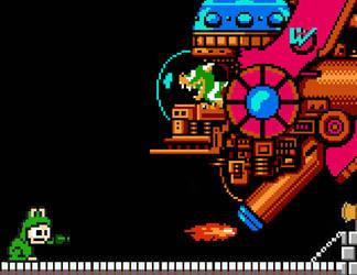 Mega Man Super Mario by MightyMusc