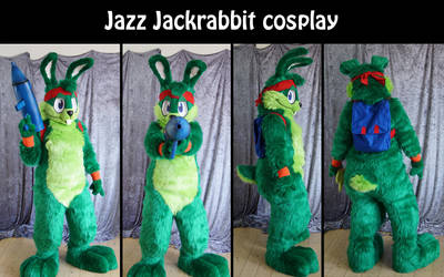 Jazz Jackrabbit cosplay by Maria-M--aka--Bakura